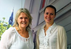 Hilde Blindheim Børve og Reidun Braut Kjosås.