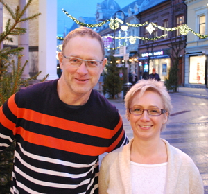 Per Øyvind Lindgren og Helene Morvik