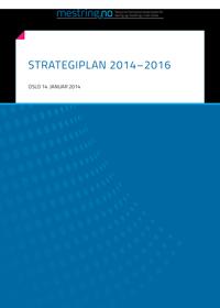 Strategiplan NK LMH, forside