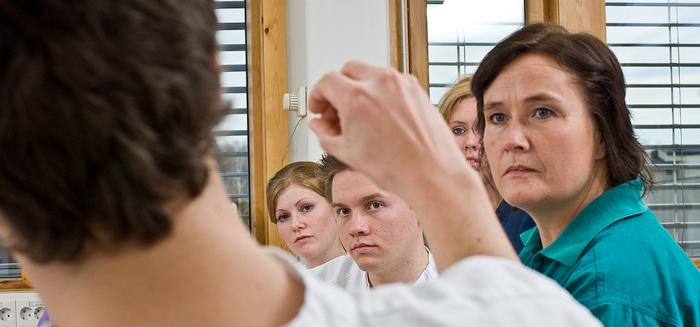 Sykepleierstudenter. Foto: Høgskolen i Oslo og Akershus