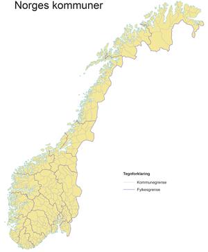 oppdatert kart over norge Kartlegger lærings  og mestringstjenester i alle landets kommuner  oppdatert kart over norge