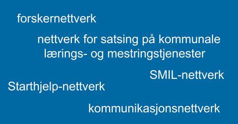 Ordsky nettverk, liten
