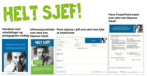 Materiell Helt sjef!, april 2015