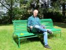 André Vågan i parken