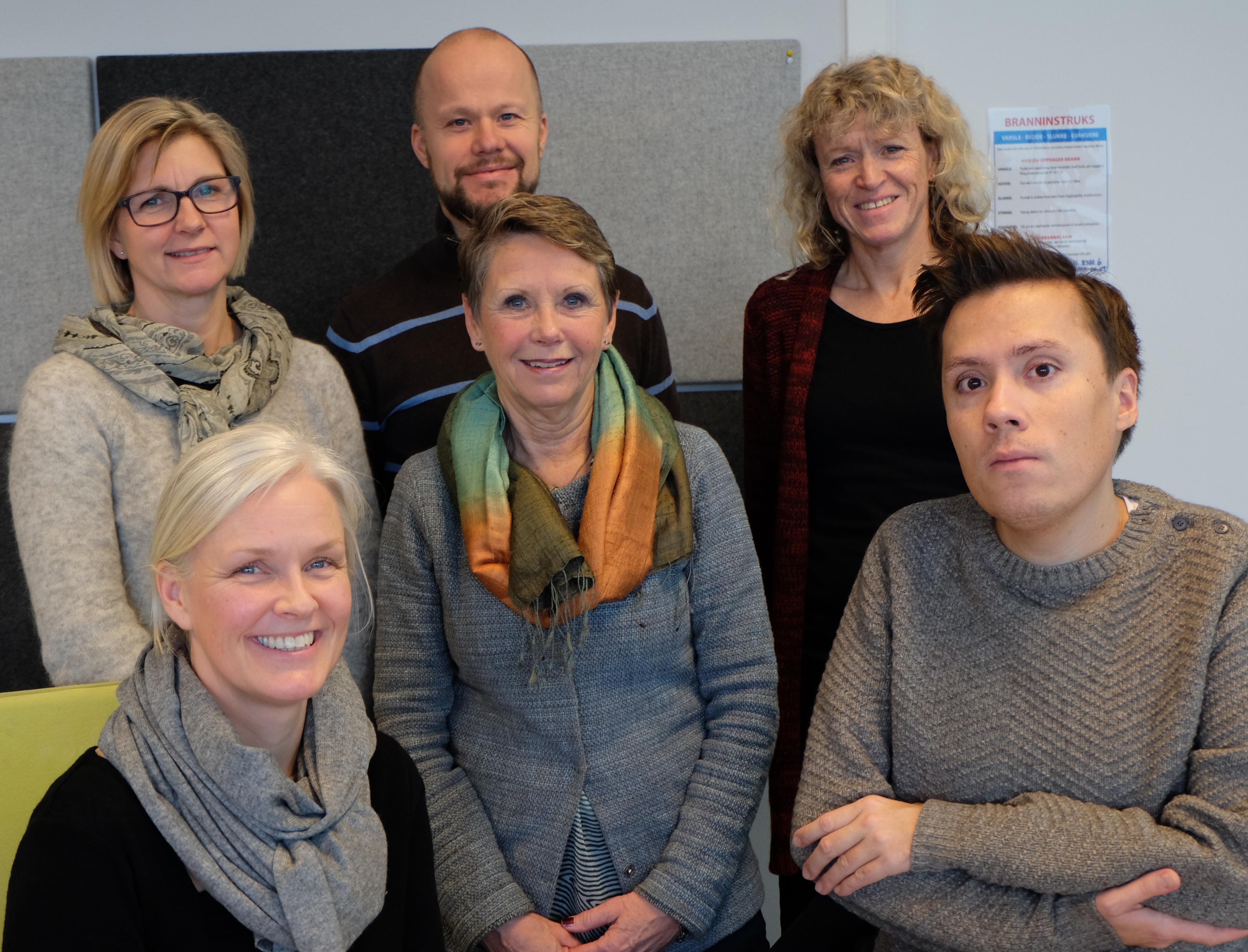 Arbeidsgruppa som jobber med sentrale teorier og begreper