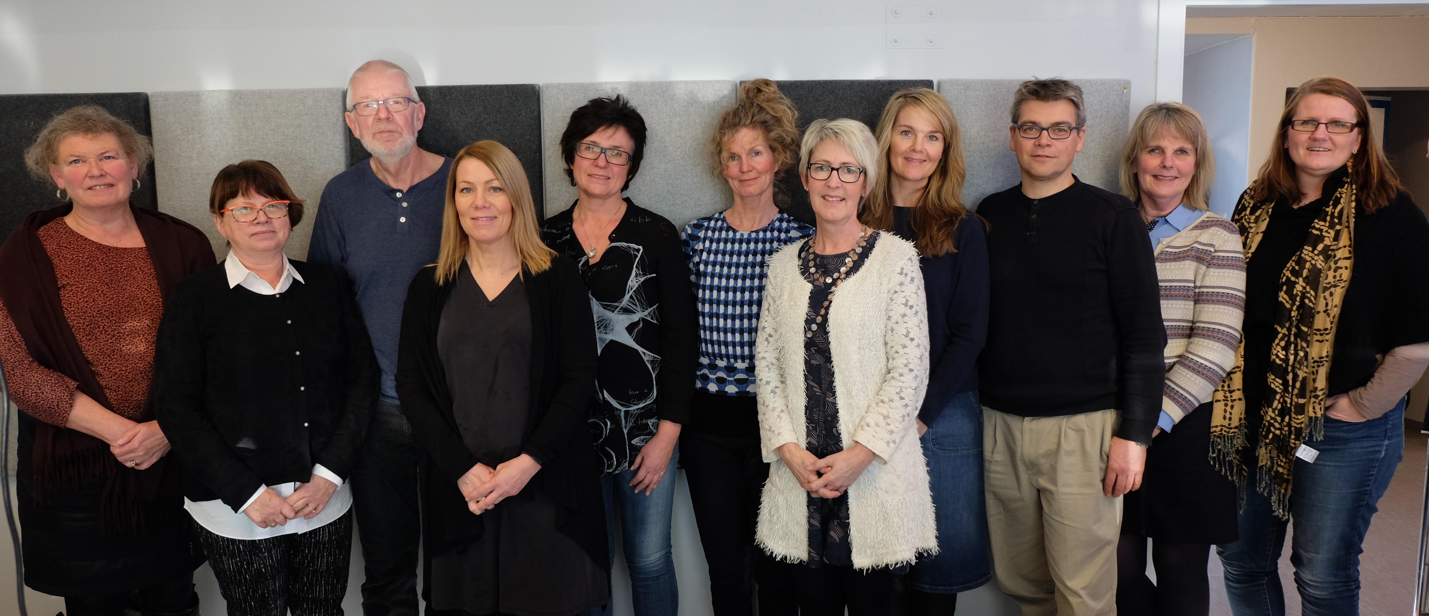Bilde av hele referansegruppa