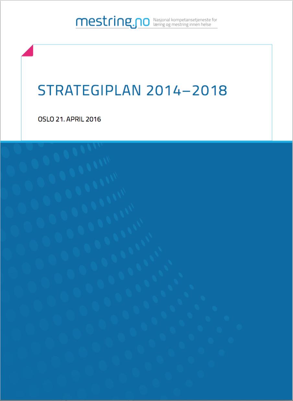 Forsiden av oppdatert strategi for NK LMH