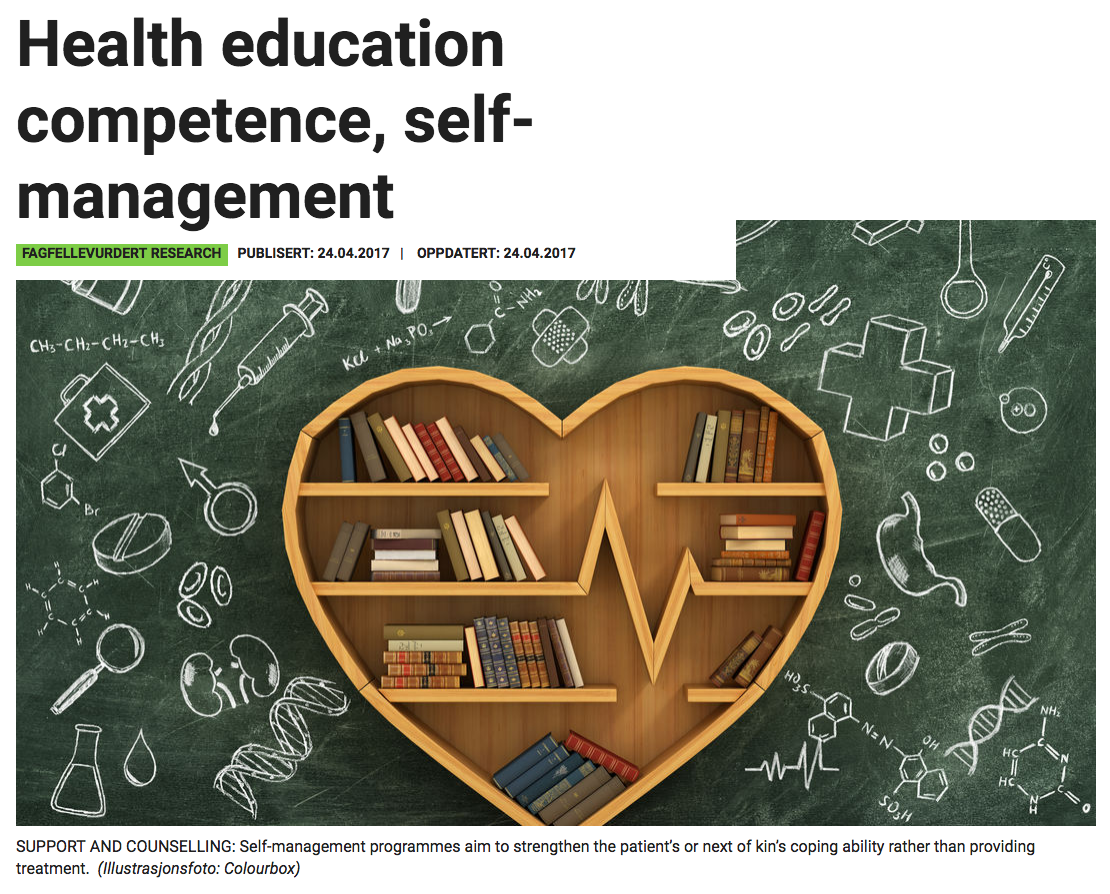 Illustrasjon fra artikkelen i Sykepleien forskning