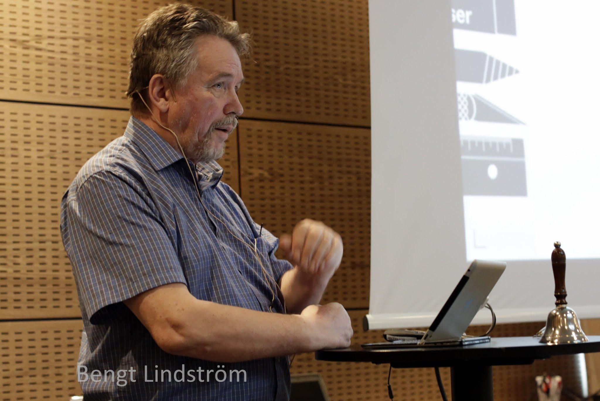 Bengt Lindström om Salutogenese