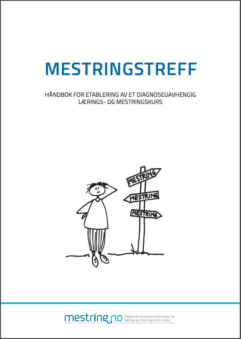 Forsiden av håndbok for Mestringstreff