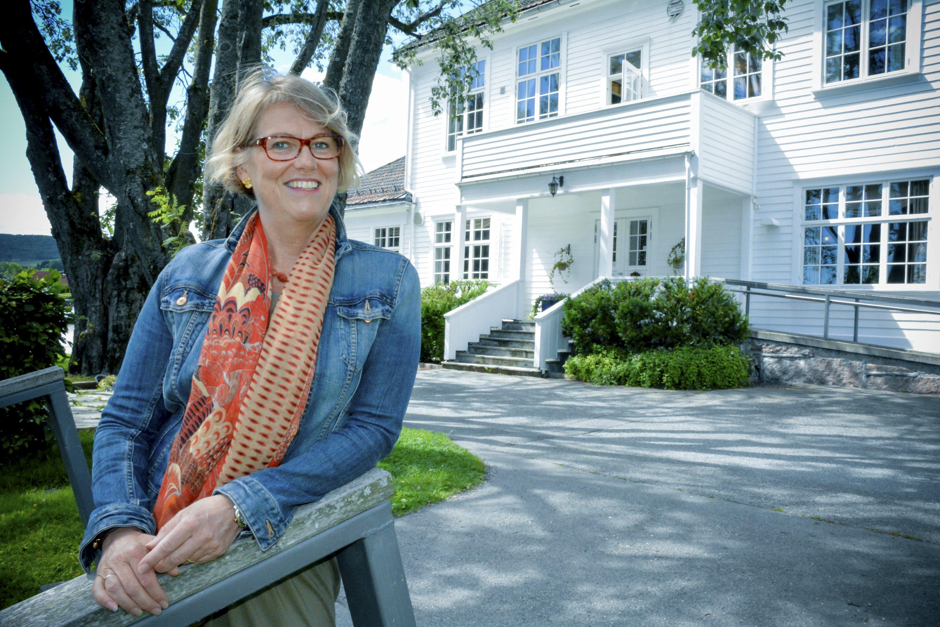 Nina Helen Mjøsund etter disputasen.