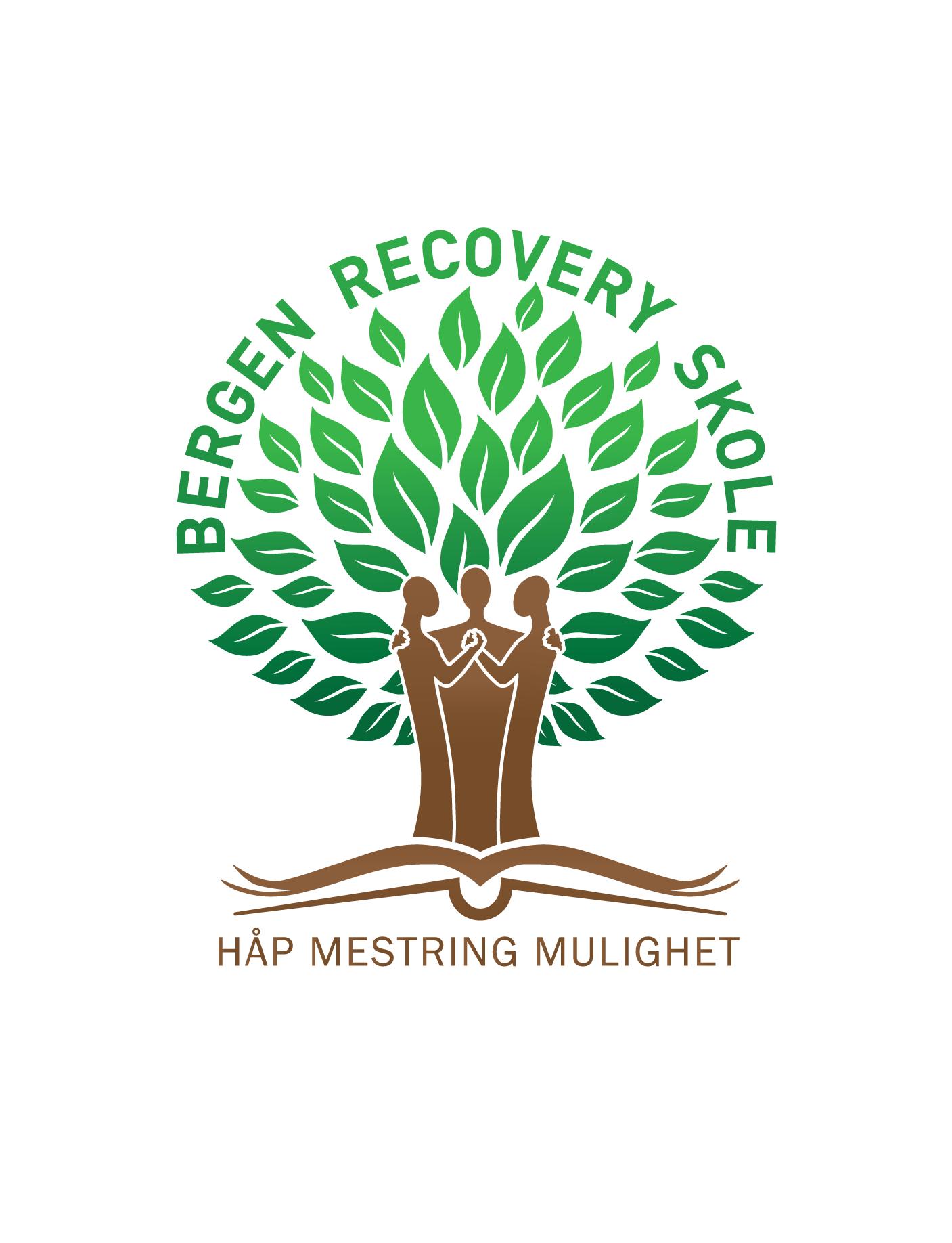 Bergen Recoveryskole sin logo