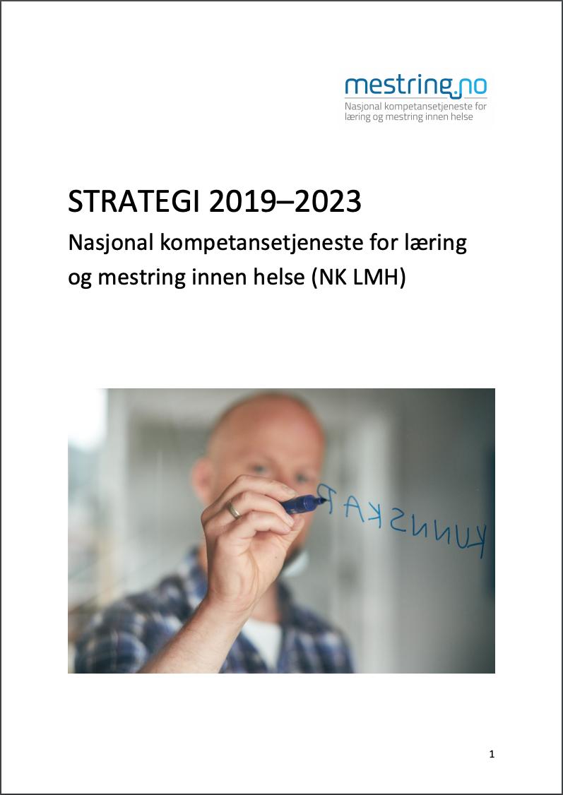 Forsiden på Strategiplan 2019–2023